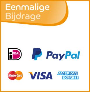 Klik hier om een eenmalige bijdrage te doen via iDeal, PayPal of Credit Card