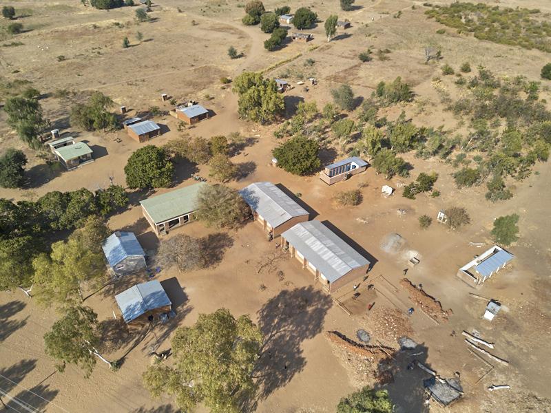 Luchtfoto Ngara Primary School
